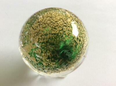 HAND MADE COLLECTABLE MARBLE ELEPHANT SKIN 001071 40mm - Teign Valley Glass