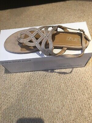 Linzi Julianna Gladiator Jellies Jelly Shoes Sandal Size 6 NEW Baby Blue or Nude