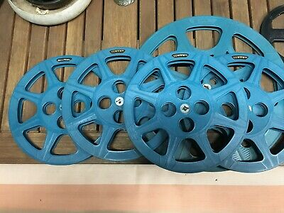 Vintage 8mm Film Movie Reels - Tuscan - Bell and Howell Spool