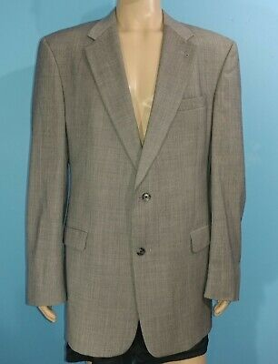 Burberry Micro Hondstooth 2 Button Blazer Sports Coat Jacket Size 46R