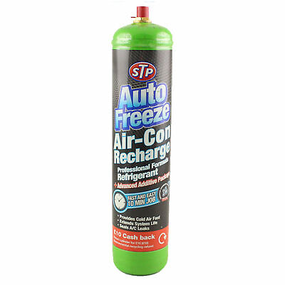 Car Air Conditioning Recharge STP R134a Air Con Re Gas Top Up Gas Refill DIY