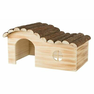 Trixie Natural Living Hanna House Chinchilla, Guinea Pig, Flamed Wood 41x21x23cm