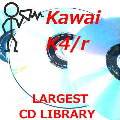 Kawai K4 K4r 12,000+ Largest Library Patches Sounds Programs CDROM