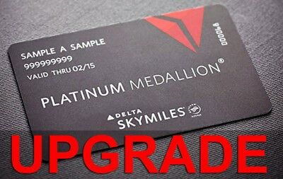 Delta Platinum Medallion Challenge *** Until Jan 2021