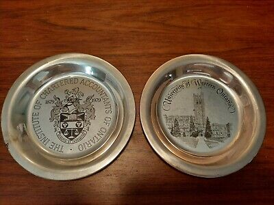 Lot Of 2 Ontario Sterling Silver Plate