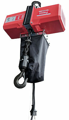 Pulley Electric Chain Hoist 500 kg Stahl Kettenwinde Cable Control