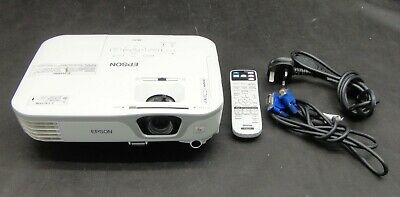 Epson EB-X11 VGA 3LCD Projector - Projects a good Image - Lamp 3477 hrs