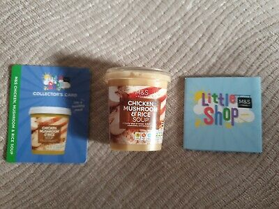 M&S Little Shop Collectables - Chicken Mushroom & Rice Soup