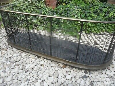 French Fire Screen Fender