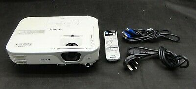 Epson EB-X11 VGA 3LCD Projector - Projects a good Image - Lamp 2658 hrs