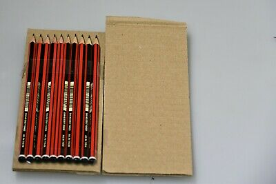 10 Staedtler Tradition 110 Pencils 2 of 2H/H/B/HB/2B for art craft drawing