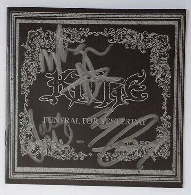 [RARE] AUTOGRAPHED - Kittie - 'Funeral For Yesterday' [CD/DVD] + PHOTO PROOF