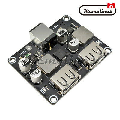 2-Channel DC Step-Down Module 12V24V to QC3.0/2.0 Car Charger Fast Charge