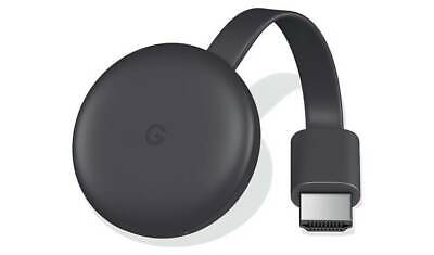New Google Chromecast - Charcoal 3rd Generation Media Streamer HDMI 1080p UK