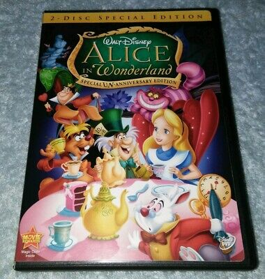 Alice in Wonderland (Two-Disc Special Un-Anniversary Edition) DVD Disney