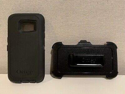 OtterBox Defender Case w/ Holster Belt Clip For Samsung Galaxy S7 Black