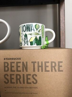 "Starbucks ""Been There Series"" Iowa Mug Ornament"