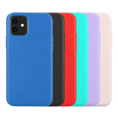 For IPhone 11 6.1 inch, Simplemade Slim Liquid Silicone Case
