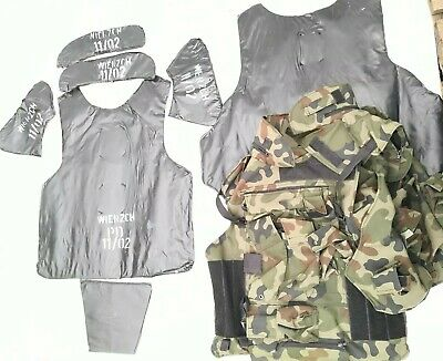 Tactical Body Armour with Kevlar Vest Bulletproof Protection Camouflage