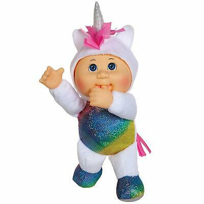 "Cabbage Patch Kids Cuties Doll: 9"" Fantasy Friends Ccollection - Shimmer Unicorn"