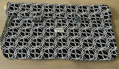 Carseat Canopy Reversible Cover For Baby Car Seat Black White, Gray Minky Dot