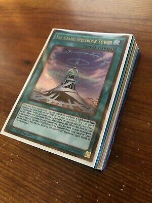 Yugioh Dark Magician Spellbook Deck Collection! 32 Cards, Lots Of Holos! Ultra