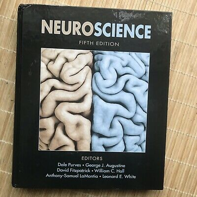 Hardcover Neuroscience Fifth Edition By Purges, Augustine, Fitzpatrick, Hall