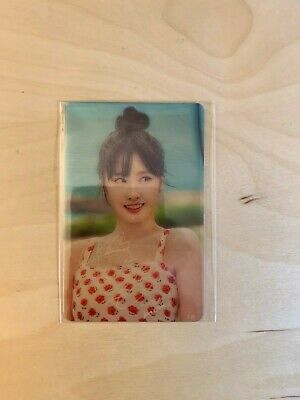 "TWICE MOMO Official Rare Transparent Photocard Japan POPUP STORE ""Twaii's Shop"""