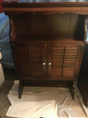 Ethan Allen- Old Tavern Antique Pine Cabinet