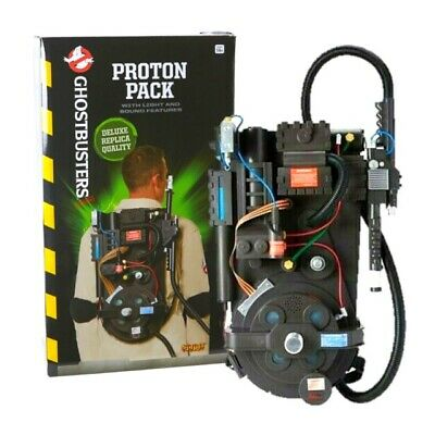 NEW Ghostbusters Proton Pack Deluxe Replica Spirit Halloween GLOBAL SHIP