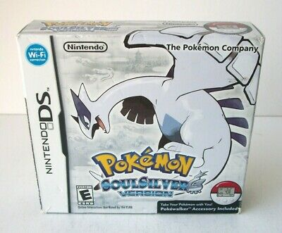 Pokemon SoulSilver Outer Big Box Only NO GAME Nintendo DS Empty Soul Silver
