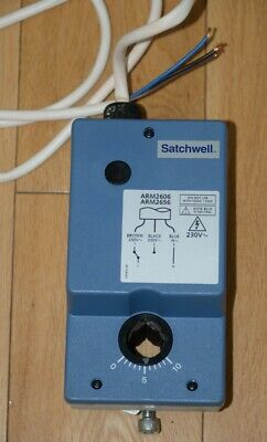 SATCHWELL ARM2606 ROTARY ACTUATOR 230v 15NM - UNUSED AND BOXED