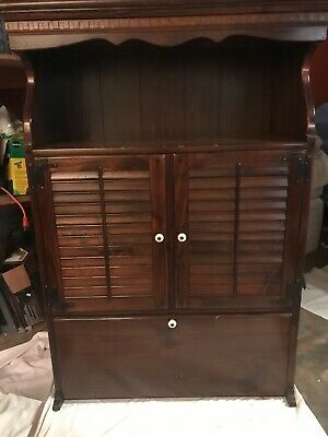 Ethan Allen Old Tavern Antiqued Pine Cabinet