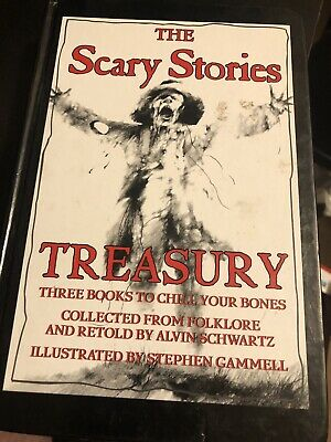 Scary Stories Treasury by Alvin Schwartz (HardCover)