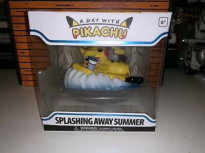 Funko: A Day with Pikachu SPLASHING AWAY SUMMER Pokemon Center Exclusive