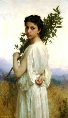 WILLIAM ADOLPHE BOUGUEREAU AVE DE PRINT EMPS OLD MASTER ART PAINTING 3110OM