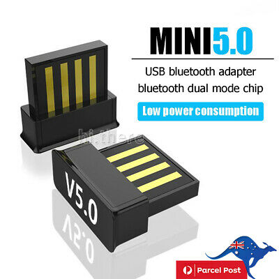 USB Dongle Adapter For Bluetooth V5.0 PC PS4 PS3 Xbox One Desktop Computer AU