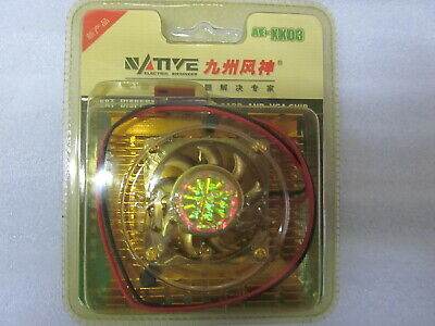 Video Card Graphic Chip GPU Heatsink and 40mm Quiet Cooling Fan  Replacement Kit