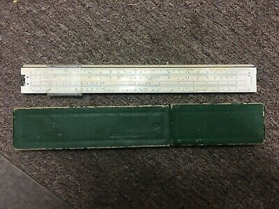 A.W. Faber Castell 1/98 Electro Vintage Slide Rule GERMANY Collectable Rare NOS