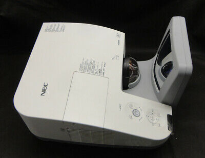 NEC NP-U250X Projector - Projects image - Lamp 377 hours - Speckled Image