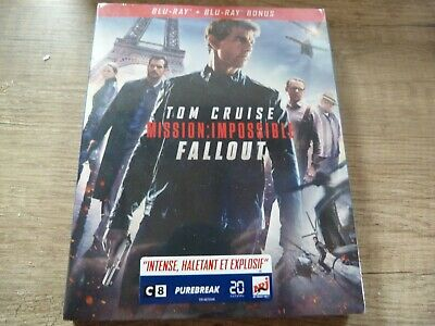 Blu Ray DVD Tom Cruise Mission impossible FALLOUT neuf sous blister
