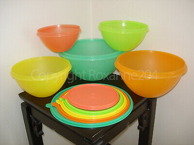 Tupperware Wonderlier Bowls/Containers Set (5) **New**