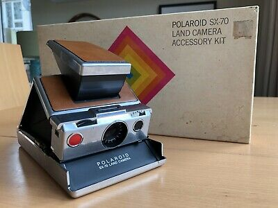 Polaroid Sx-70 and Accessory Set Working