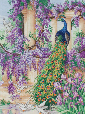 Anchor ~ Maia ~ Counted Cross Stitch Kit ~ The Peacock ~ 56780001027
