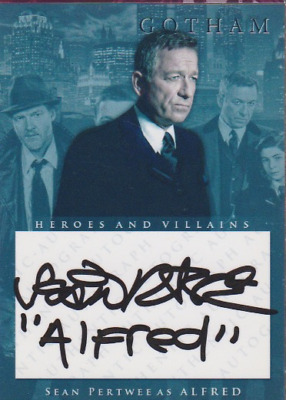 Sean Pertwee authentic signed custom autographed trading card COA