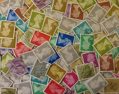 £50.00 Face Value Unfranked Stamps Off Paper Nice and Clean #800