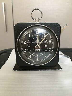 Smiths English Clock Systems Interval Timer Vintage 50s