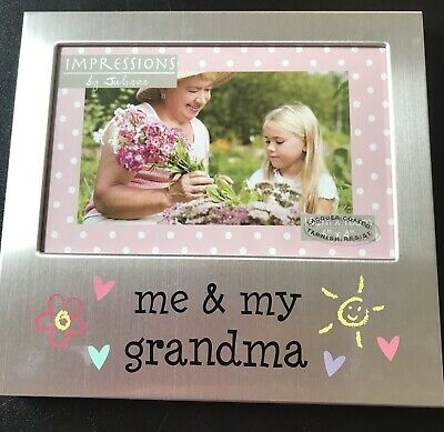 Ramy do obrazów Dom i Meble BY JULIANA ME AND MY GRANDPARENTS  ALUMINIUM PHOTO PICTURE FRAME GIFT 6 X 4