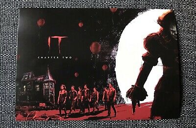 IT Chapter 2 Poster Exclusive Limited Edition A4 Pennywise