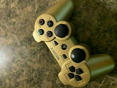 Official Sony Playstation 3 Ps3 Wireless Controller - Gold